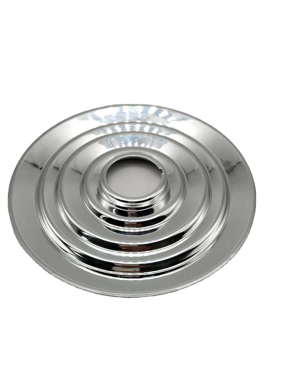 生产定制旋压冲压灯具波浪型反射罩光电五金照明零件加工