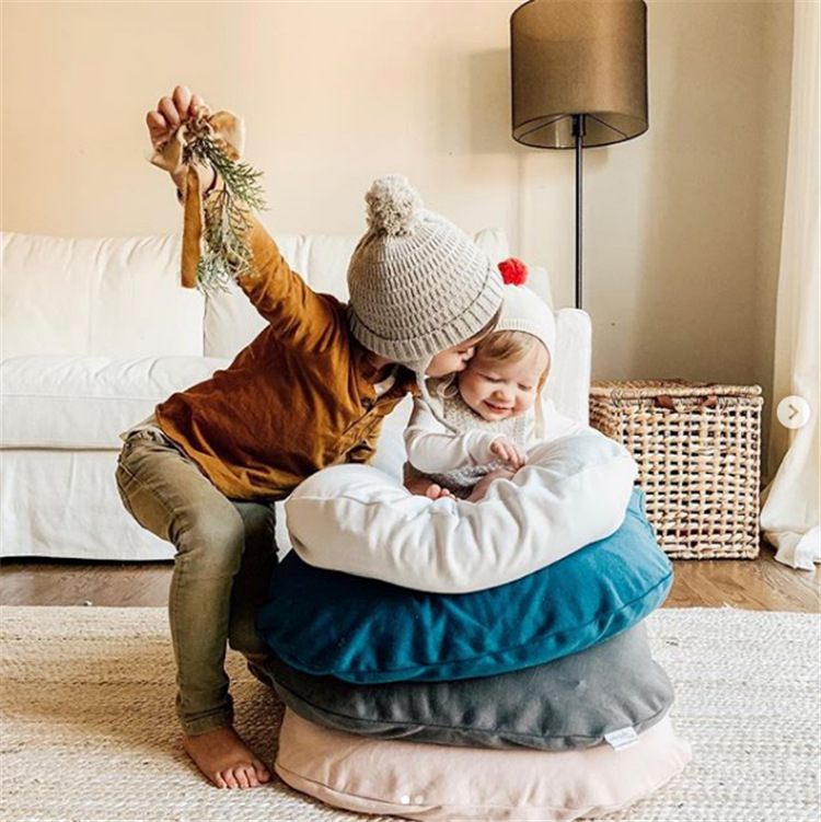 Bed with comfort for baby