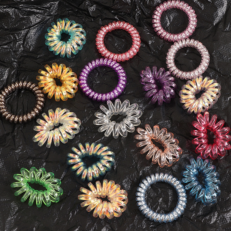 korean simple  phone lines hair scrunchies  wholesale  NHNU243392