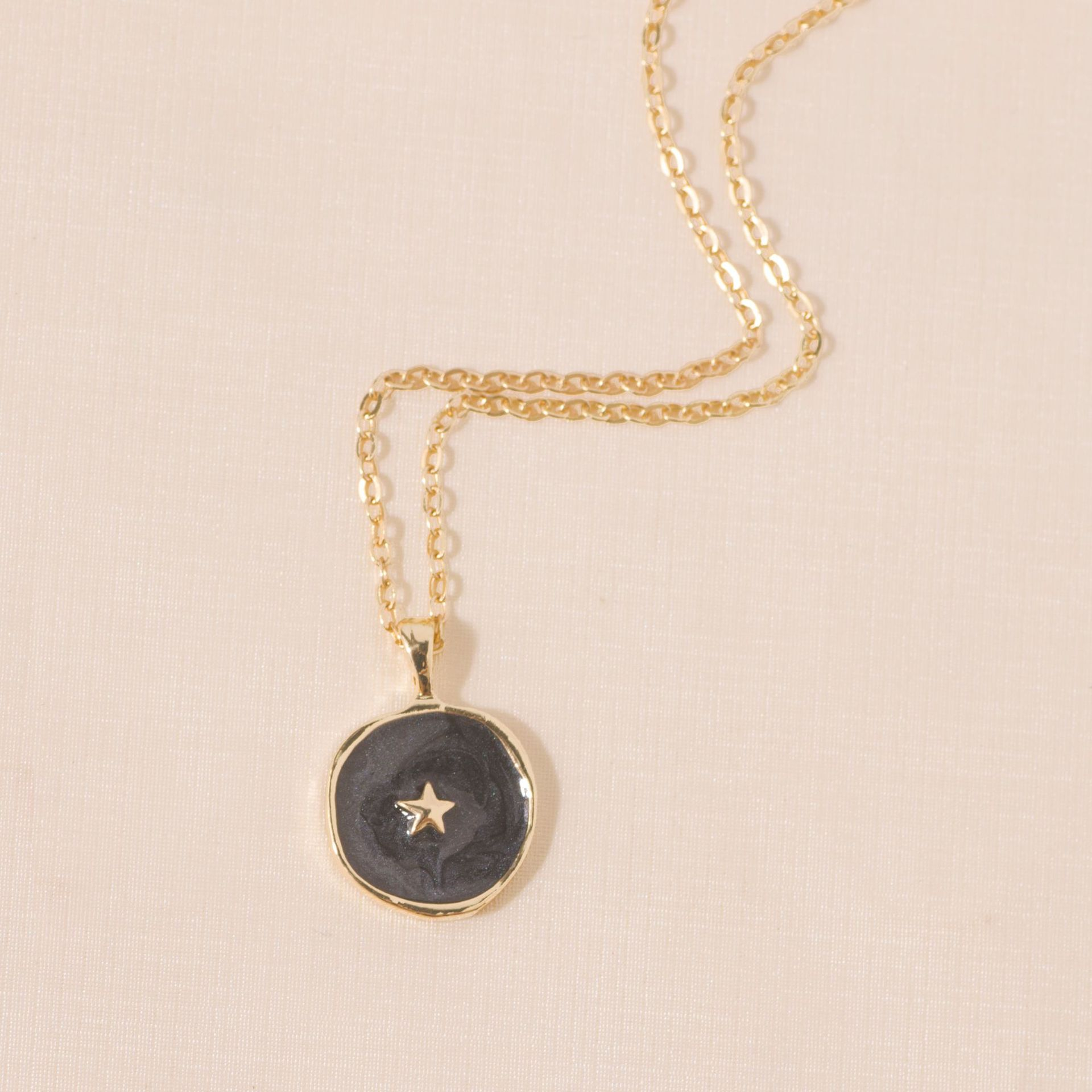 wholesale fashion dripping oil heart moon star earrings ring necklace Nihaojewelry  NHYIA398397