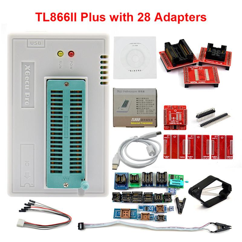 TL866II PLUS通用编程器 笔记本 汽车 主板 flash bios烧录多规格