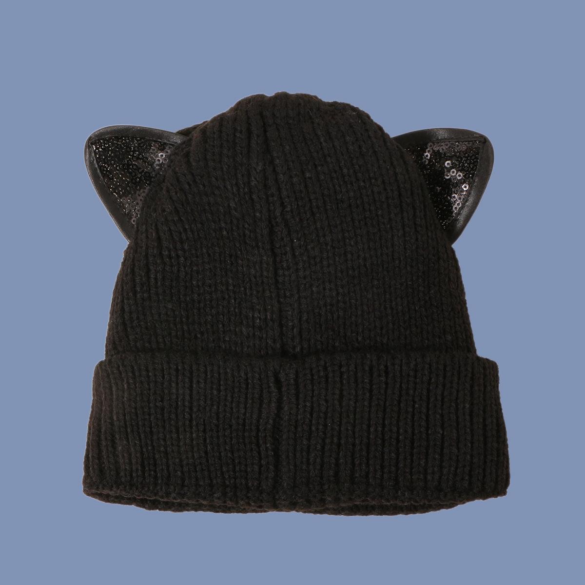 fashion cute cat knitted hat  NHTQ288065