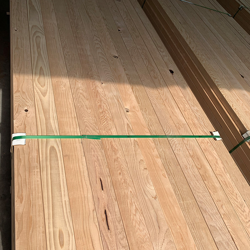 厂家供应进口铁杉别墅用料原材料铁杉木铁杉木板材原始森林铁杉木