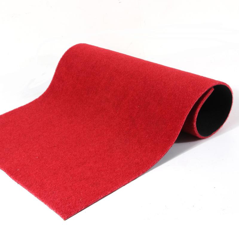可裁剪红地毯走廊地毯过道楼梯踏步垫长整卷地毯宾馆酒店防滑耐磨
