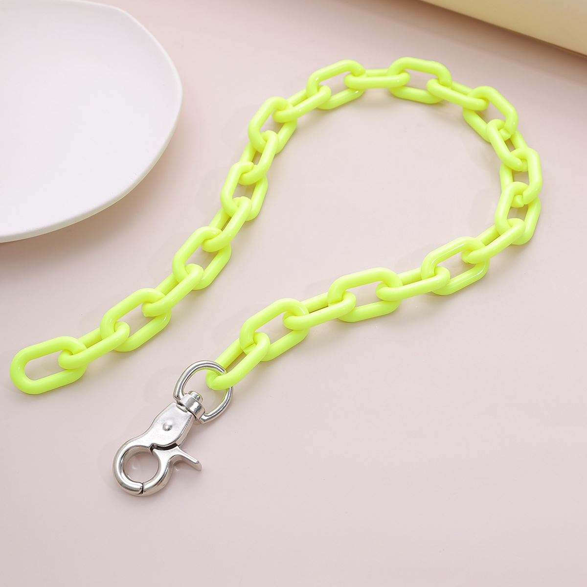 jewelry tassel adjustable item decoration hiphop tide key chain exaggerated chain necklace wholesale nihaojewelry NHXR228283