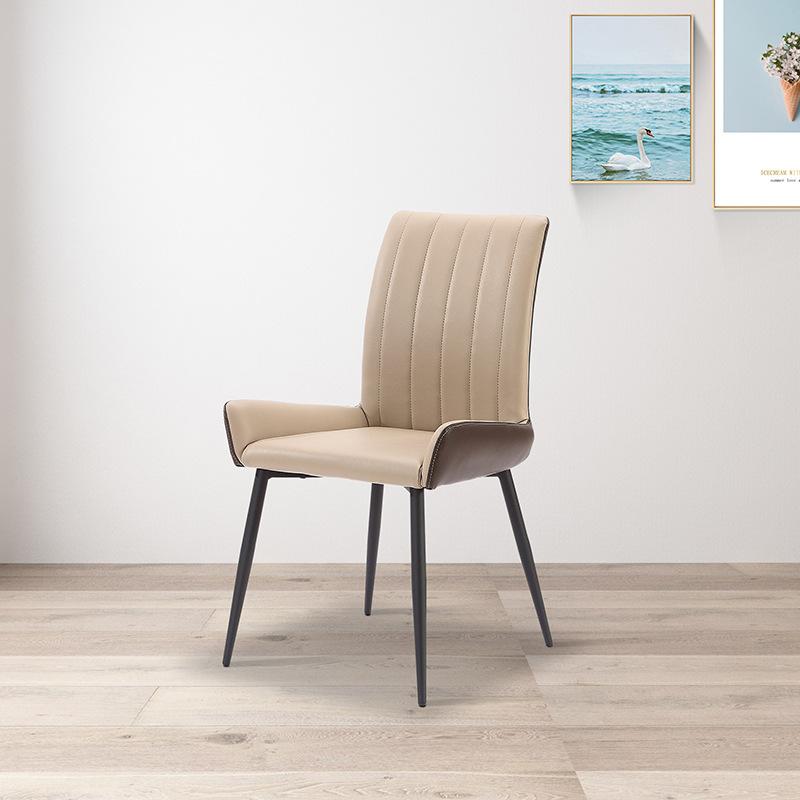 北欧家用椅子 网红家具轻奢定制餐厅电脑书房铁艺简约餐椅