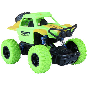 ប្រដាប់ក្មេងលេង Pull Back Two-wheel Drive Off-road Vehicle Model Fall Resistant Stunt Spin Boy Toy PZ561678