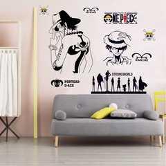 أنيمي قطعة واحدة ملصق جدار ملصقا الفتيان عنبر أنيمي