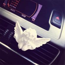 现货天使形状石膏香薰扩香石汽车去除异味香薰摆件车载出风口香水