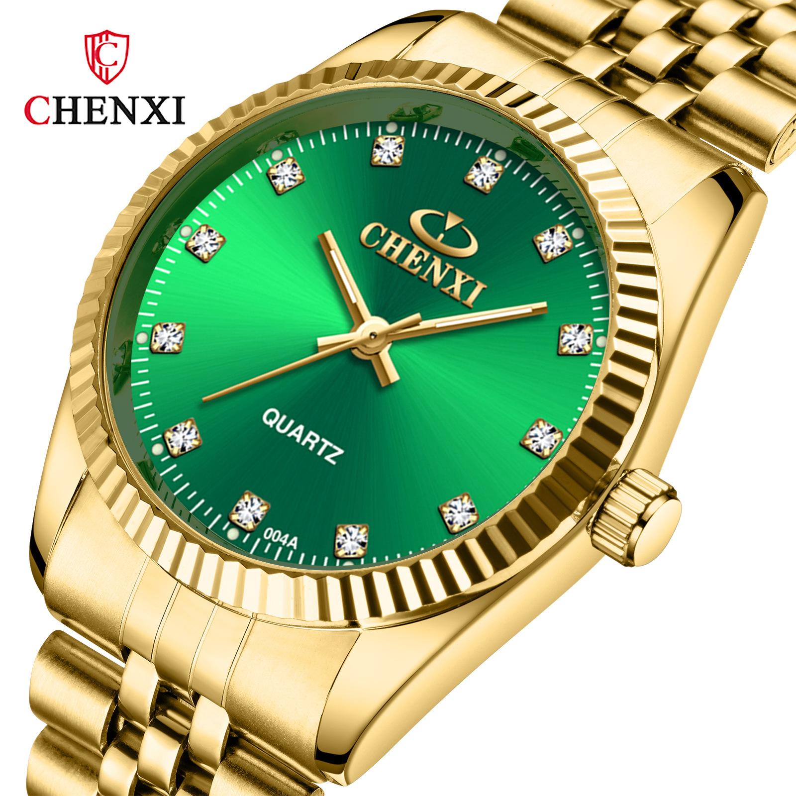 Men's Women's Watch Waterproof Business Watch Watch Cross-border Brand Watches Ms. Wholesale Gold Qing Lv Biao