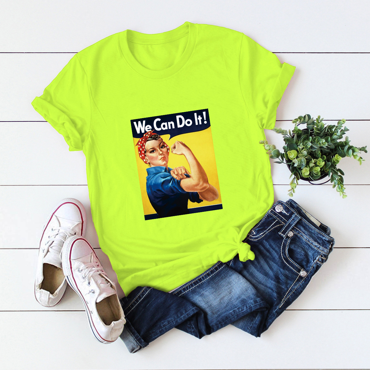 hot Slim Comfortable Casual Large Size Short Sleeve Women's T-shirt NSSN903