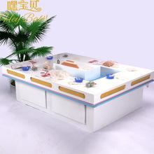 儿童游乐积木玩具桌玩具高档烤漆沙桌太空彩沙桌儿童乐园设备批发