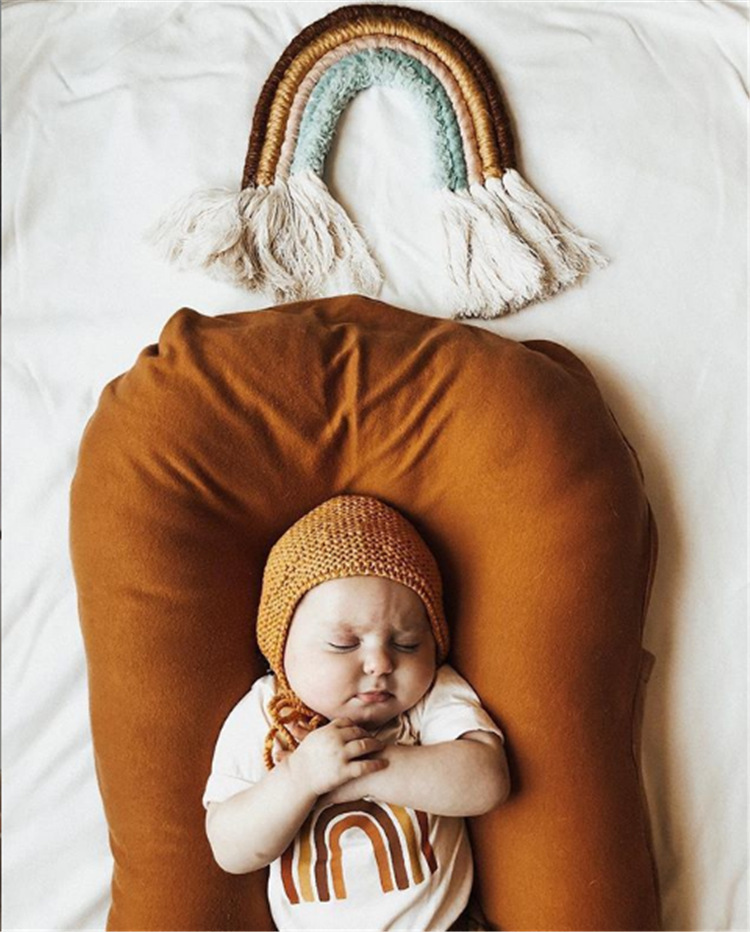 cotton baby bed coffee