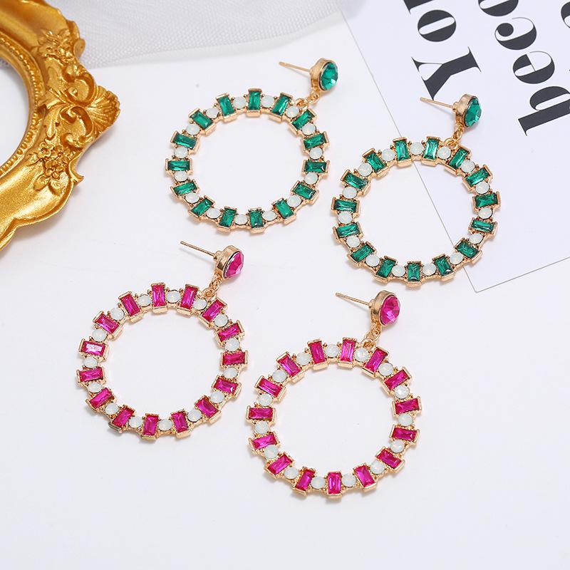 Hollow earrings simple hoop earrings ear jewelry NHKQ194141