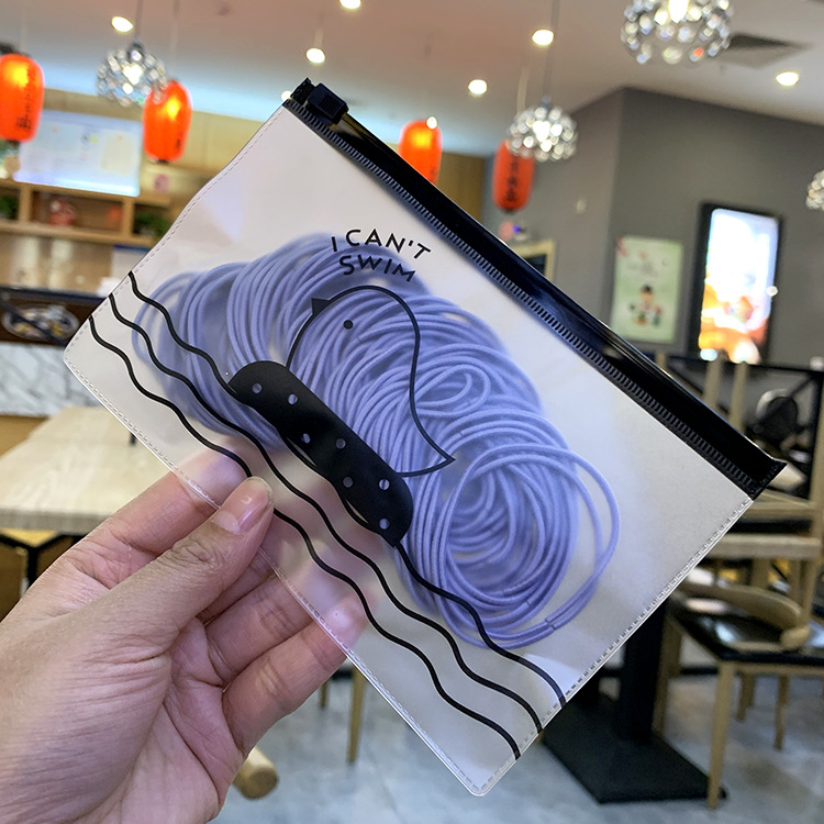 Korean head rope female simple scrub bag rubber band cheap hair rope wholesale NHSA202479
