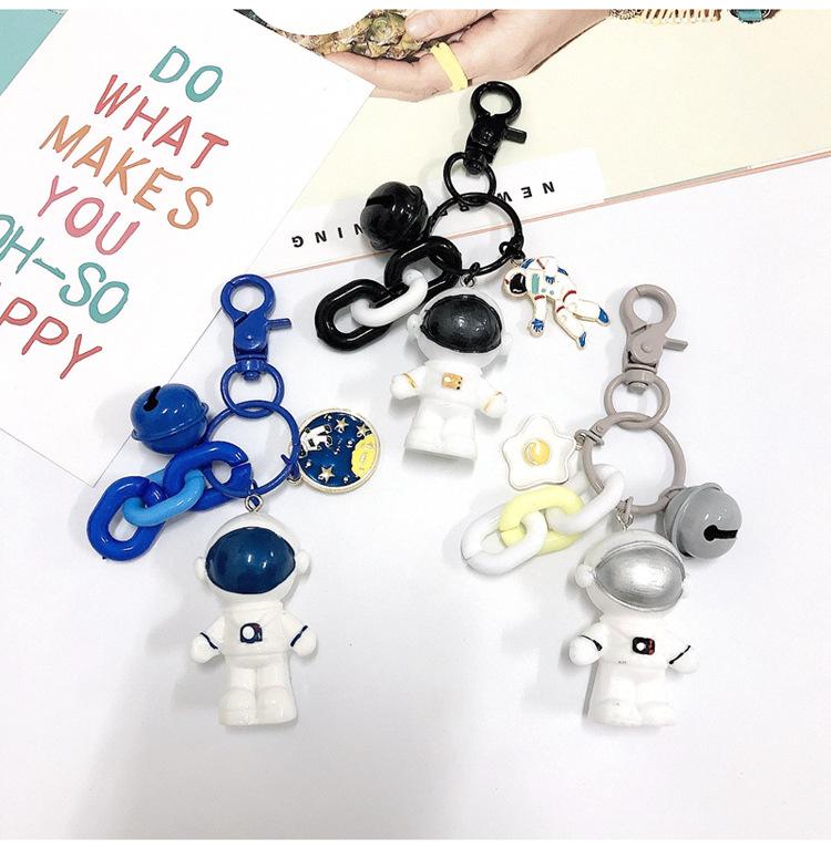 fashion new cute Astronaut Keychain Creative Cute Car Key Pendant wholesale NHJP216328