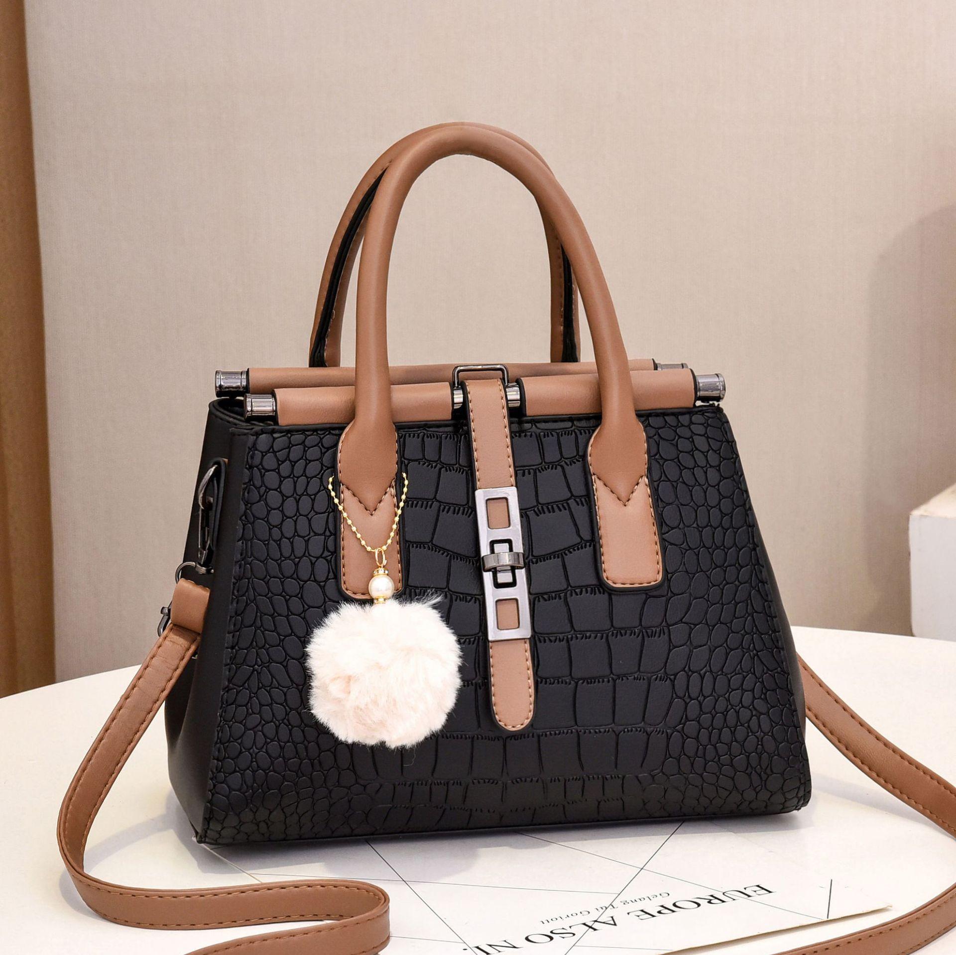 Women's Bag Elegant Fashion Large-capacity Handbag Shoulder Bag