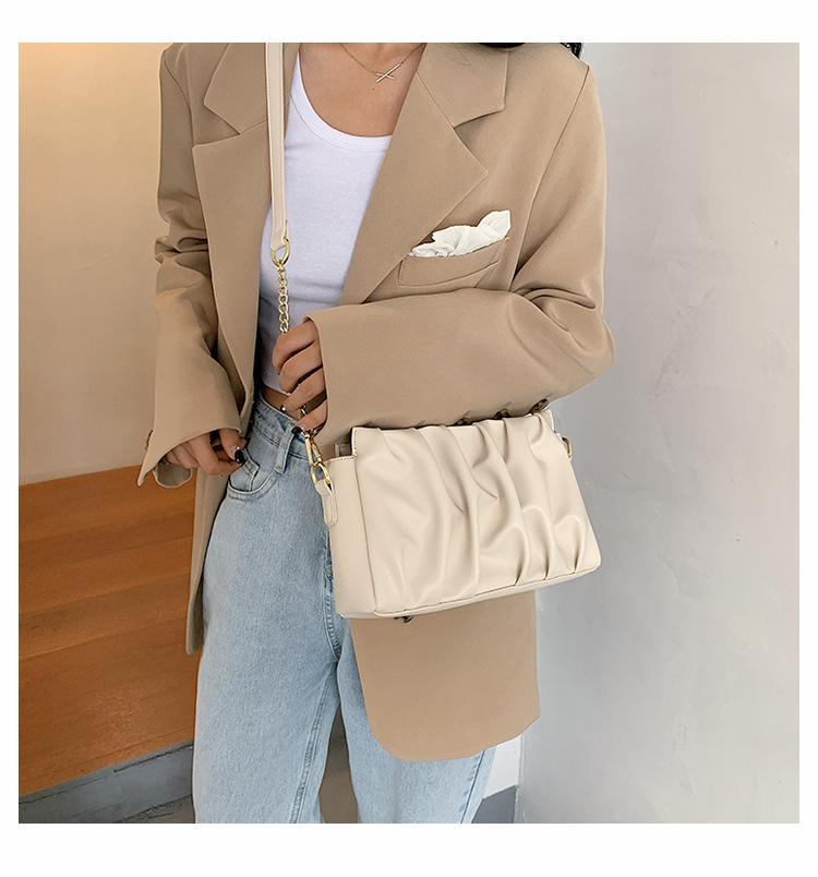 New trendy summer fashion chain fold messenger women's small handbags NHTC242642