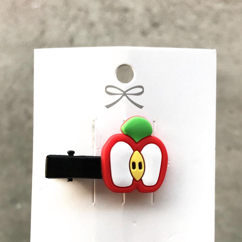 Korean cute  fruit cartoon broken hair bb clip  NHDI246835