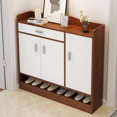 欧式镂空鞋柜收纳简约现代门厅柜经济型客厅门口简易组装鞋架家用