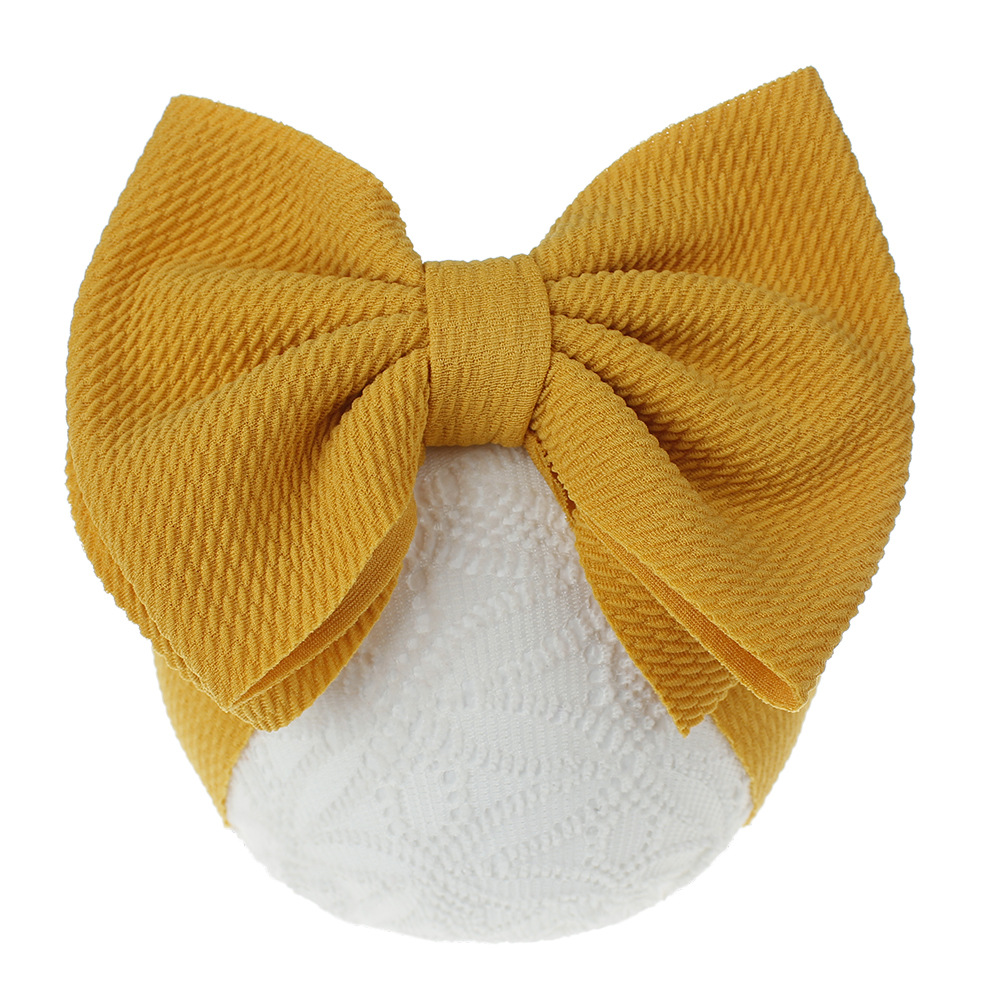 New children's hair accessories big bow hair band cloth baby headwear wholesale NHDM208989