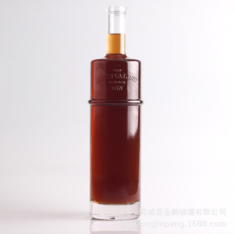 常年批发出售750ML玻璃酒瓶 出口洋酒酒瓶 可做各种深加工 带包装