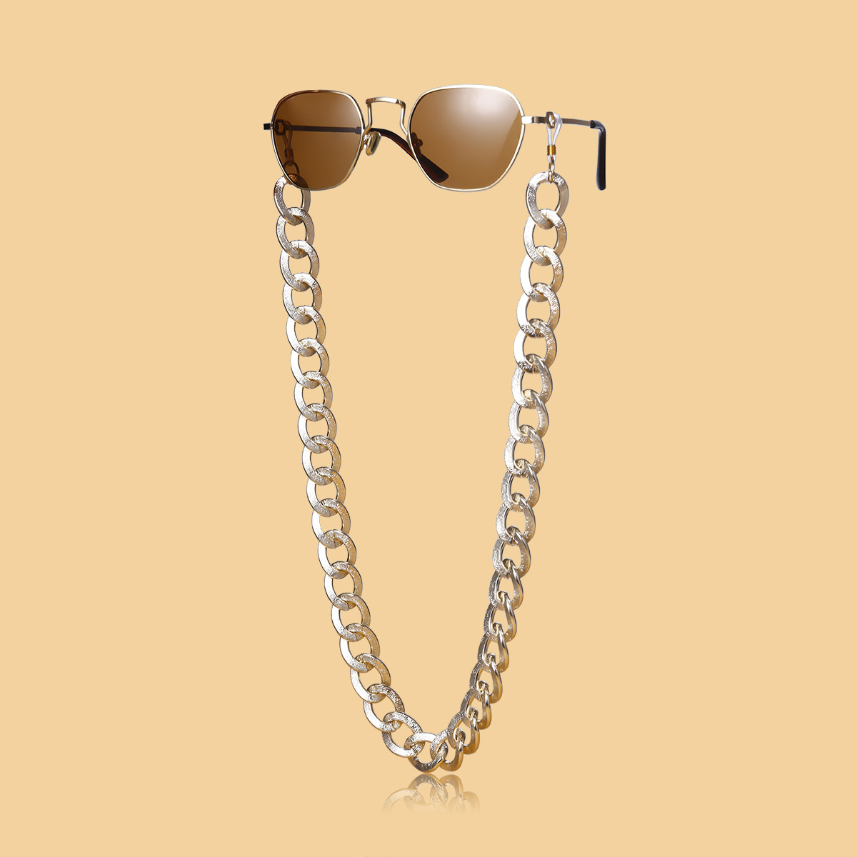 Fashion metal accessories U-shaped grinding chain thick chain glasses chain wholesale Nihaojewelry NHXR211852