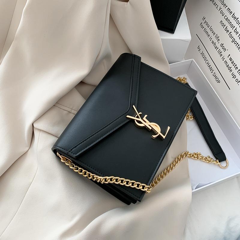 2020bags ins欧美流行Y链条包单肩斜挎时尚女包跨境一件代发
