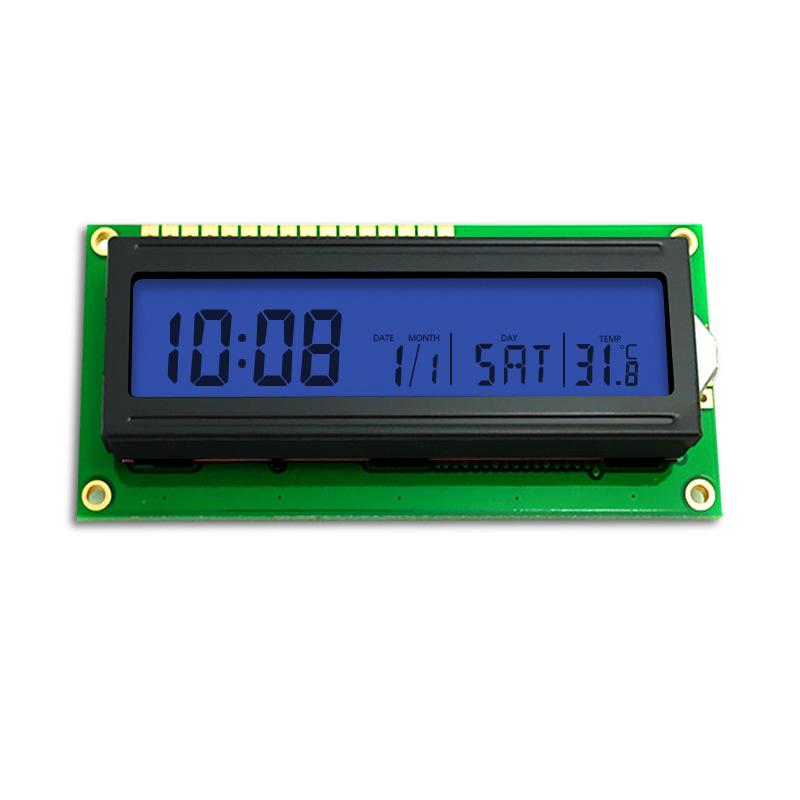 1602蓝膜 COB字符点阵 STN 正显 3.3V电压 仪器仪表专用 LCD