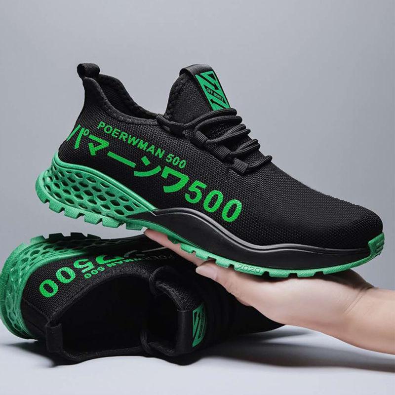 男鞋2021夏季新款透气潮鞋子男士运动鞋潮流跑步鞋休闲鞋布鞋批发
