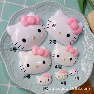 diy storage box water cup decoration patch cat head resin jewelry accessories cream glue mobile phone case stationery box beauty