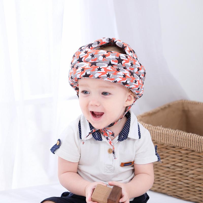 婴儿宝宝防摔帽学步帽幼儿防撞帽走路安全防护帽儿童防摔护头枕帽