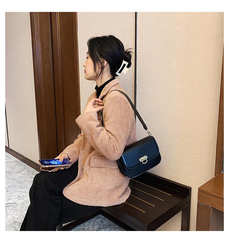 fashion messenger one-shoulder small square bag NHRU285761