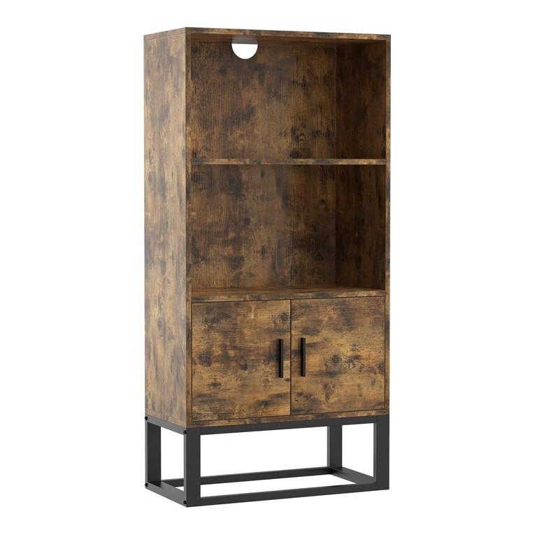 可批量定制书架书柜木架简易置物架产品货架组装金属儿童带抽屉