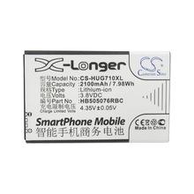 厂家直供CS适用华为A199 Ascend G710 HB505076RBC手机电池