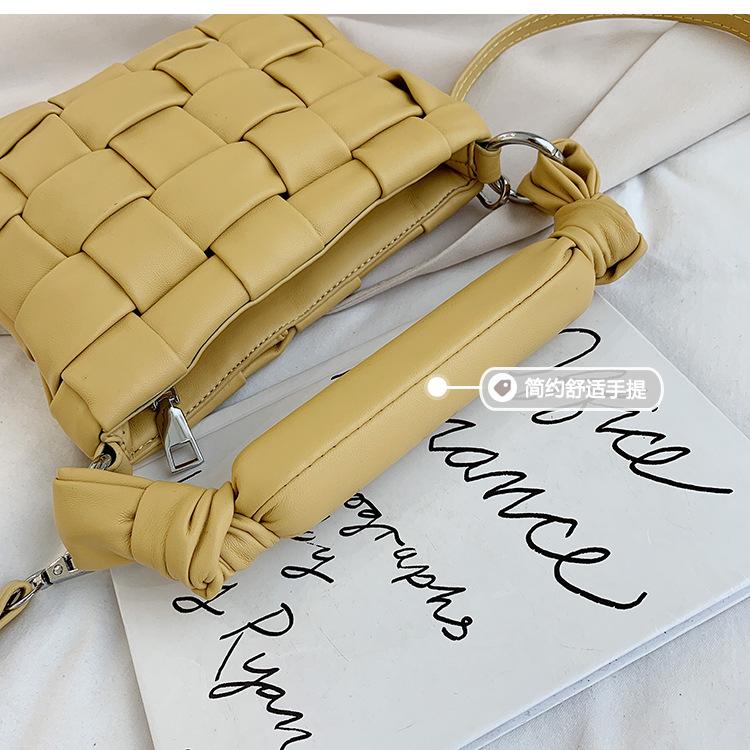 new wave fashion popular woven female bag wild messenger handbag nihaojewelry wholesale NHXC223131