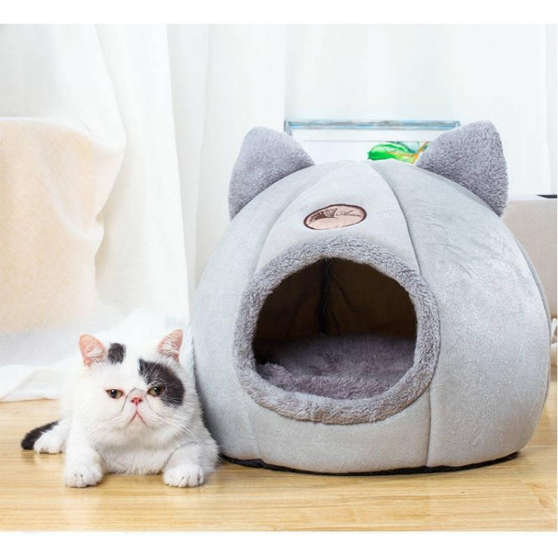 猫窝狗窝可拆洗冬季保暖封闭式猫别墅网红四季通用猫咪狗宠物用品