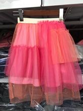 韓國原單兒童半裙 女童網紗裙子 出口外貿童裝 蛋糕童裙