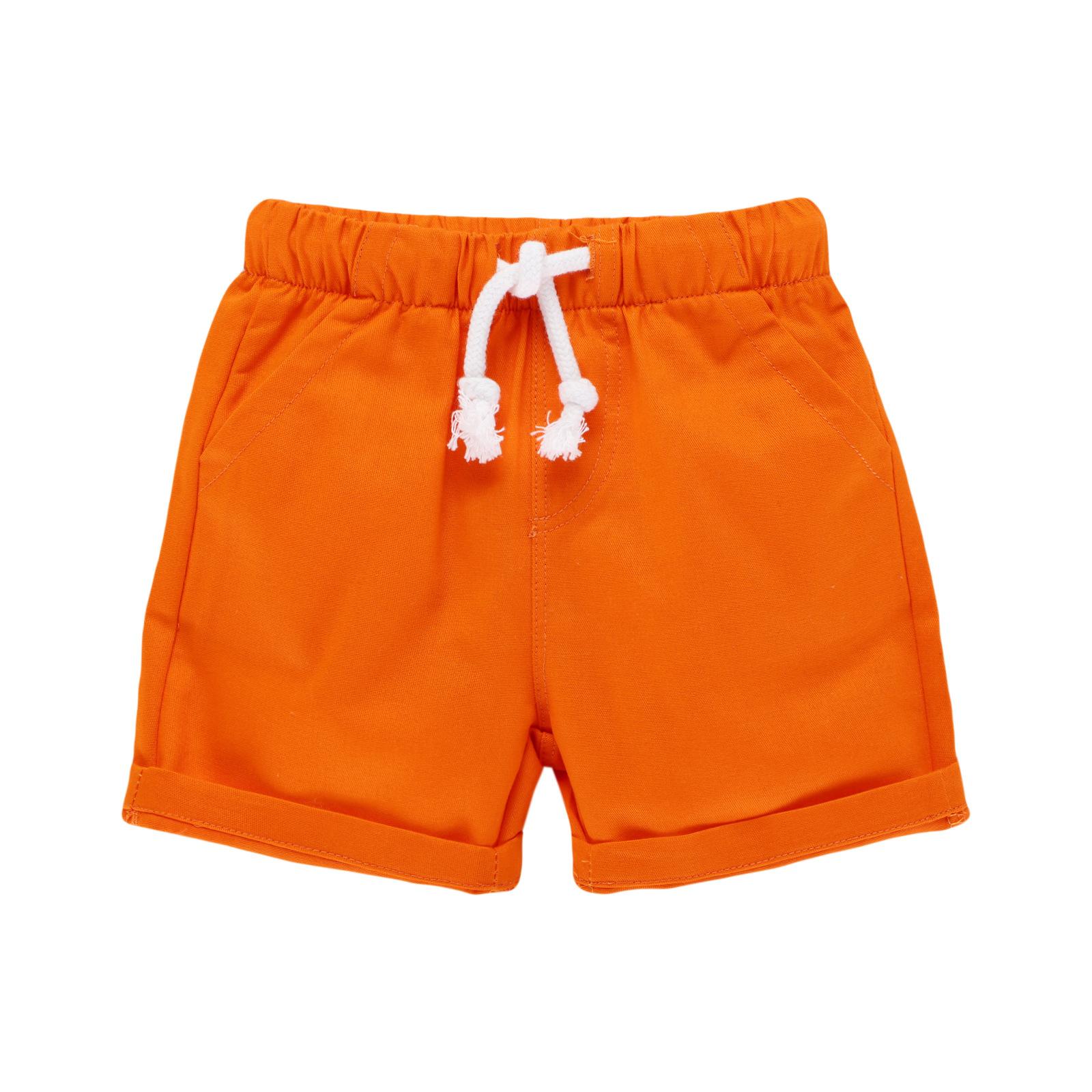 新款服装梭织裤童装短裤休闲款短裤欧美童装厂家批发