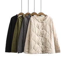 保暖棉衣女士外套冬季2020大碼女裝短款小棉襖加絨加厚羊羔毛棉服