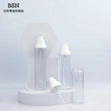 现货塑料PET化妆品爽肤水喷雾瓶50ml80ml120ml透明喷瓶OEM定制