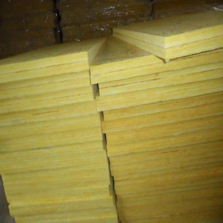华美保温玻璃棉板 外墙保温专用玻璃棉 48k吸音离心铝箔玻璃棉