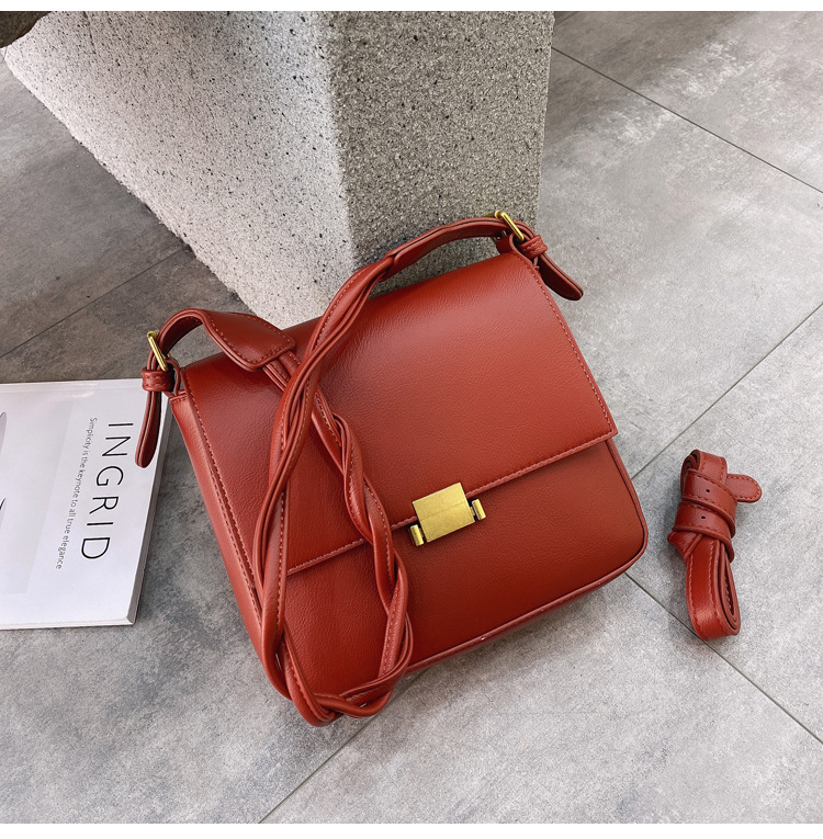 Retro fashion messenger single shoulder bag NHJZ285798