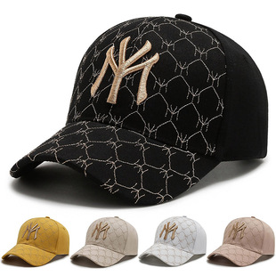 Peaked cap female niche trendy brand hard top three-dimensional net red fashion new foreign style female hat baseball temperament black hat