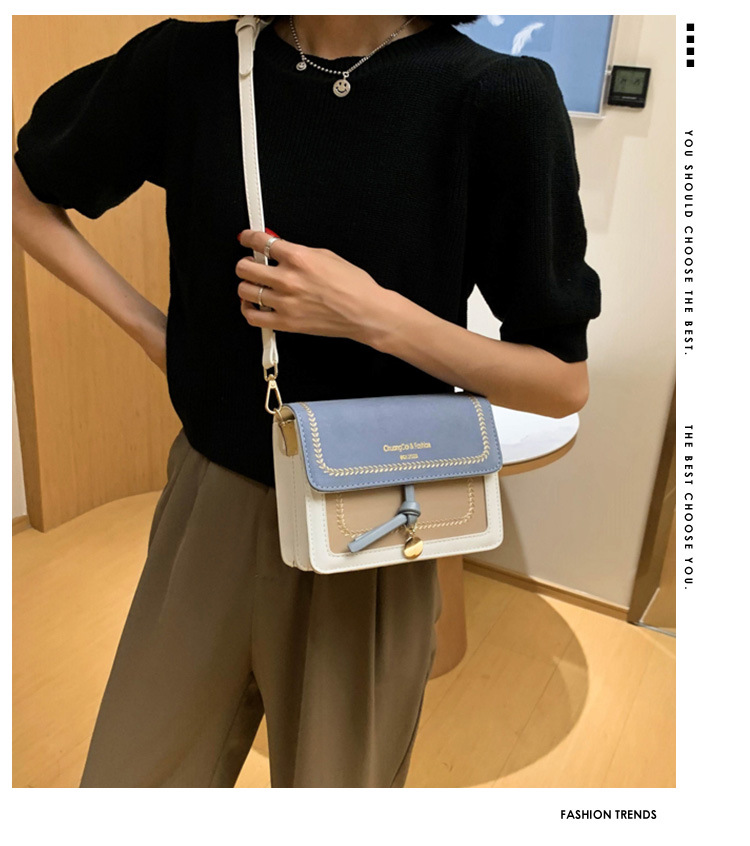 new trendy fashion frosted messenger small square bag for women NHLH248953