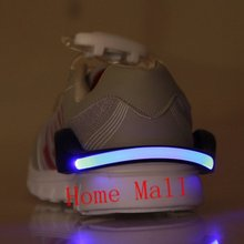 LED Luminous Shoe Clip Light Night Safety Warning LED Bright