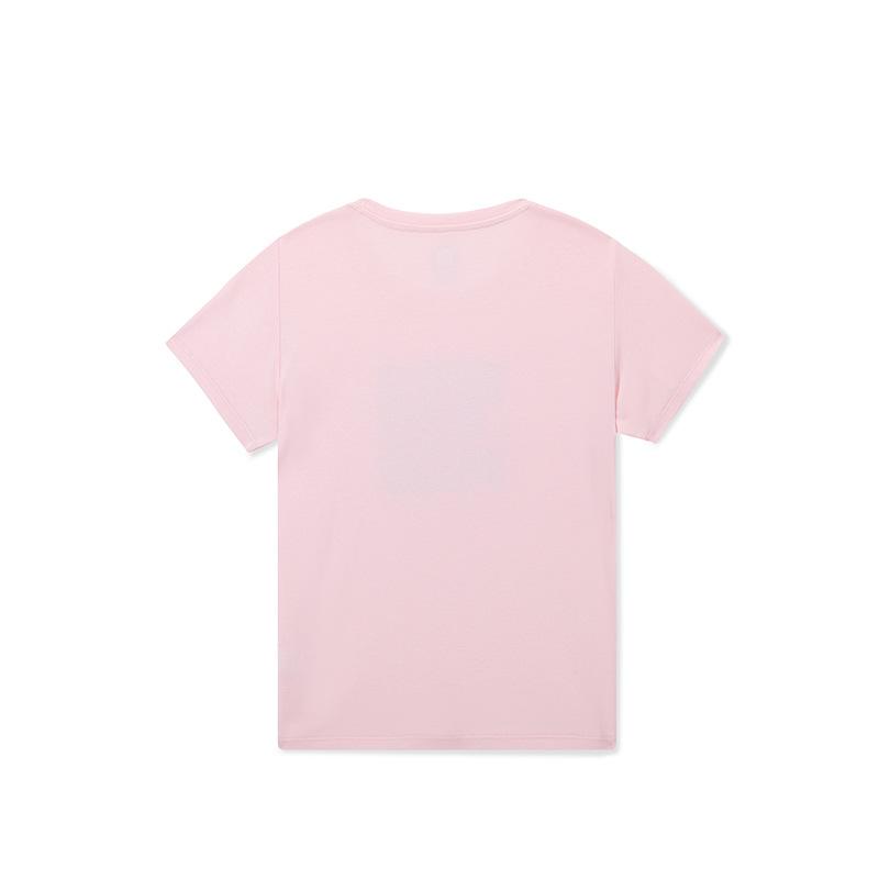 361童装女童2020夏装新款圆领t恤舒适透气中大童体恤休闲半袖上衣