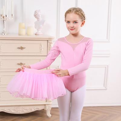 Children Ballet tutu Skirt Dance Dress Ballet Skirt short sleeve season girlsnational dance dress Children Ballet tutu Skirt Training Dress
