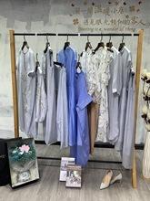 深圳高端原創設計師品牌戈以戈萊薇20夏棉麻女裝品牌折扣女裝批發