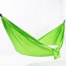 户外吊床降落伞布单人双人蚊帐可订制logo